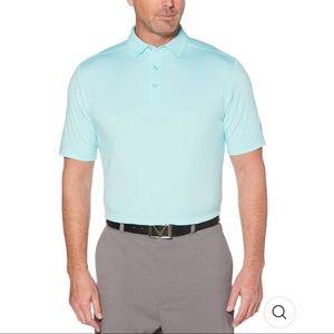 Callaway Men's Light Blue Golf Polo